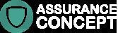 assurance concept logo footer